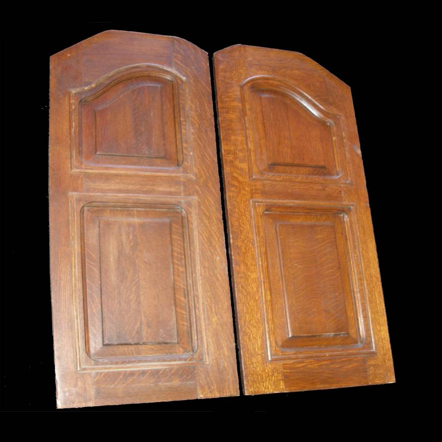 Reclaimed Tiger Oak Antique Cafe doors ** SOLD **CDE-ORP-3346- A