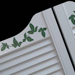 Custom Cafe Doors Hand Painted 3 0 Vine 36 From 249 99
