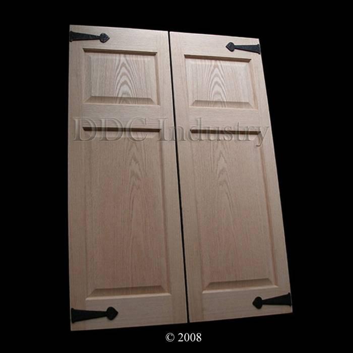 Oak Cafe Doors Raised Panel 2 0 Iron 24 Quot Swinging Doors