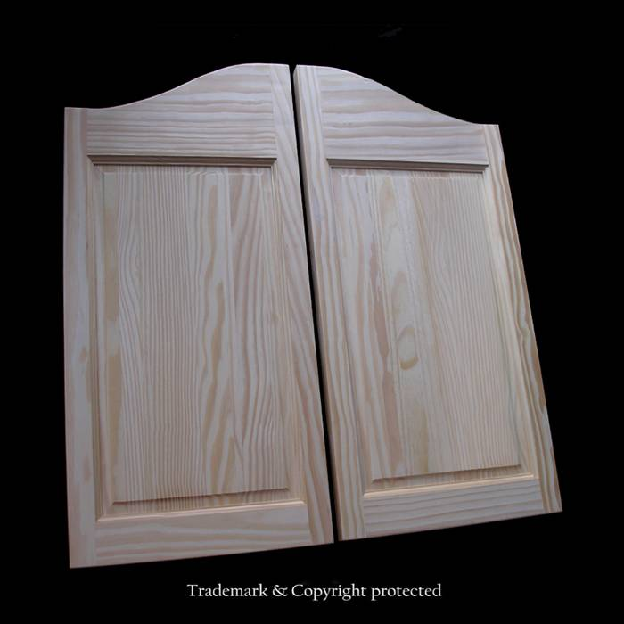 Pine Cafe Doors 2/6 Raised Panel 30